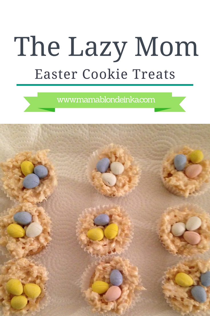 Lazy Mom Easter Cookie Treats