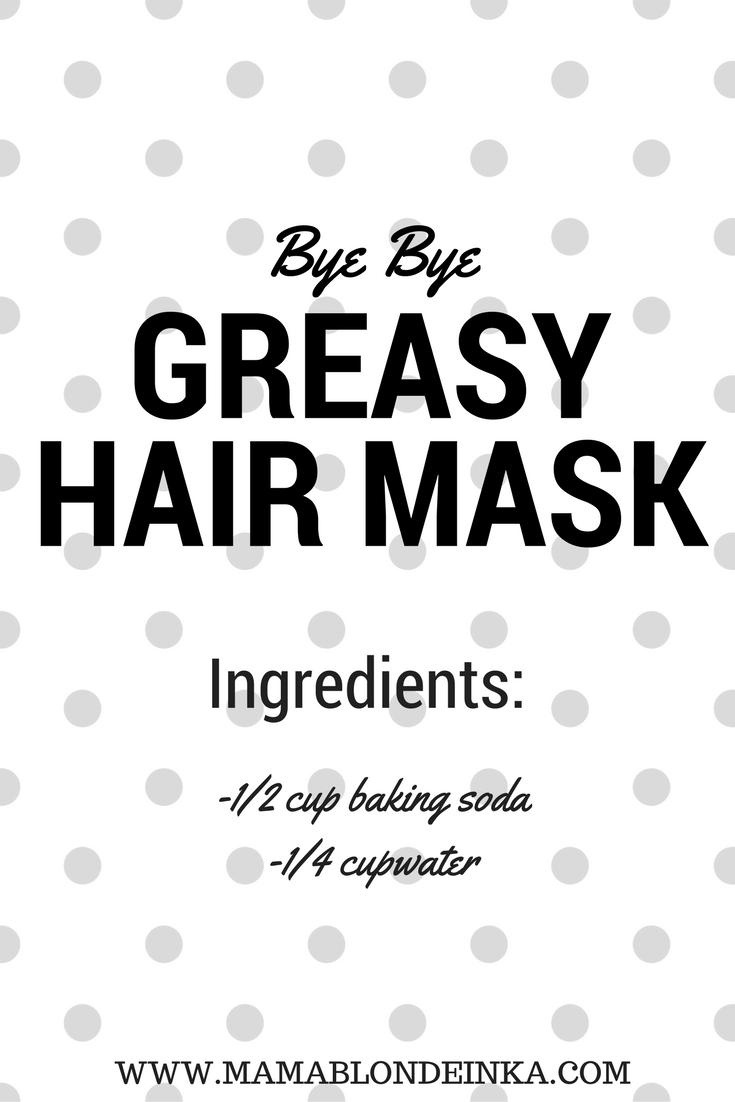 Bye Bye Greasy Hair Mask