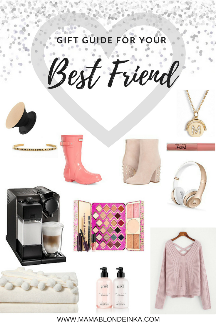 Cozy + Pink Gift Guide : Presents For Your Best Friend