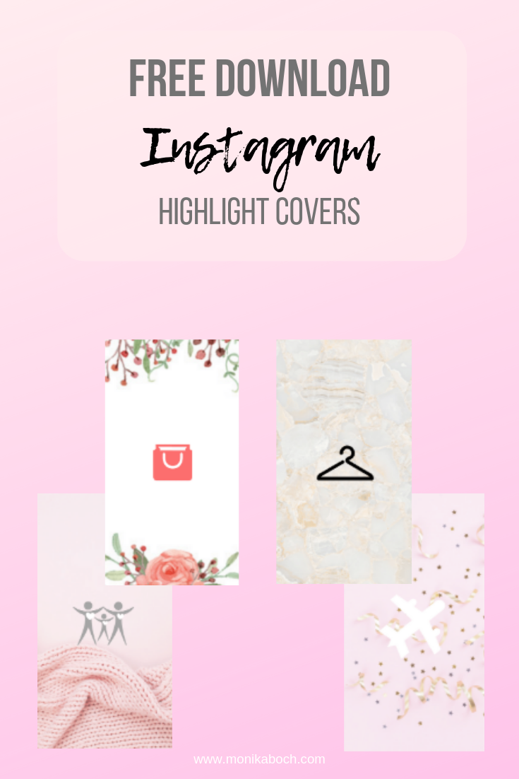 4 Marble And Girly Instagram Highlight Covers Free Download